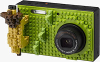 Pentax's Optio NB1000 digital camera. Photo provided by Hoya Corp.