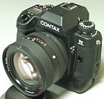 Contax's N Digital SLR. Copyright (c) 2001, Michael R. Tomkins, all rights reserved.