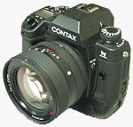 Contax's N Digital SLR. Copyright © 2001, 2002 Michael R. Tomkins.  All rights reserved.