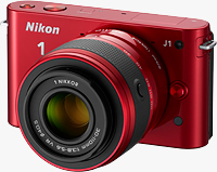 The Nikon J1 compact system camera. Photo provided by Nikon Inc.