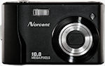 Norcent's DSC-1050 digital camera. Courtesy of Norcent, with modifications by Michael R. Tomkins.