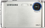 Samsung's NV4 digital camera. Courtesy of Samsung, with modifications by Michael R. Tomkins.