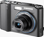 Samsung's NV40 digital camera. Courtesy of Samsung, with modifications by Michael R. Tomkins.