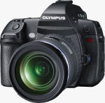 Olympus' unnamed concept camera. Courtesy of Olympus, with modifications by Michael R. Tomkins.