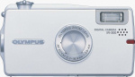 Olympus' IR-300 digital camera. Courtesy of Olympus, with modifications by Michael R. Tomkins.