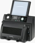 Olympus P-440 printer. Courtesy of Olympus, with modifications by Michael R. Tomkins.