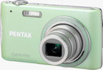Pentax's Optio P80 digital camera. Photo provided by Pentax Imaging Co.