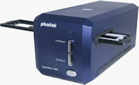 Plustek's OpticFilm 7400 film scanner. Photo provided by Plustek Inc.