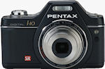 Pentax's Optio I-10 digital camera. Photo provided by Pentax.