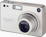 Pentax's Optio S4 digital camera. Courtesy of Pentax, with modifications by Michael R. Tomkins.