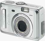 Pentax's Optio S45 digital camera. Courtesy of Pentax, with modifications by Michael R. Tomkins.