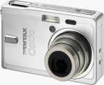 Pentax's Optio S6 digital camera. Courtesy of Pentax, with modifications by Michael R. Tomkins.
