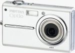 Pentax's Optio T10 digital camera. Courtesy of Pentax, with modifications by Michael R. Tomkins.