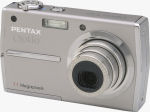 Pentax's Optio T30 digital camera. Courtesy of Pentax, with modifications by Michael R. Tomkins.