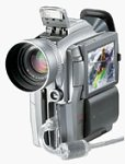 Canon's Optura 200MC Digital Video Camcorder. Courtesy of Canon U.S.A. Inc., with modifications by Michael R. Tomkins.