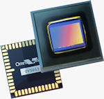 OmniVision's five megapixel OV5653 CMOS image sensor is designed for use in both still and video cameras. Photo provided by OmniVision Technologies Inc.