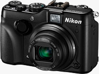 Nikon's P7100 digital camera. Photo provided by Nikon Inc.