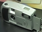 Polaroid's PDC640M digital camera. Copyright (c) 2001, Michael R. Tomkins, all rights reserved.