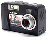 Toshiba's PDR-M71 digital camera. Copyright (c) 2001, The Imaging Resource.  All rights reserved.