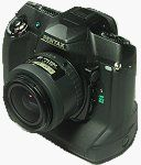 Pentax's unnamed digital SLR.  Copyright (c) 2001, Michael R. Tomkins, all rights reserved.