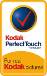 Kodak Perfect Touch logo. Courtesy of Eastman Kodak Co.