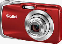 Rollei's Powerflex 440 has a 14-megapixel 1/2.33-inch CCD sensor, 4x optical zoom lens, 2.7-inch LCD panel, and SD / SDHC card storage. Image provided by Rollei.