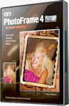 Photoframe 4 Professional packaging. Courtesy of onOne Software, with modifications by Michael R. Tomkins.