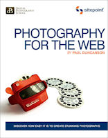 Photography for the Web, by Paul Duncanson. Image provided by O'Reilly Media Inc.