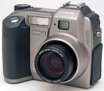 Epson's PhotoPC 3100Z digital camera. Copyright (c) 2001, The Imaging Resource. All rights reserved.