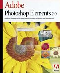 Adobe's PhotoShop Elements 2.0 package design. Courtesy of Adobe Systems Inc.