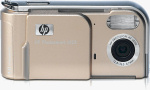 HP's Photosmart M23 digital camera. Courtesy of HP, with modifications by Michael R. Tomkins.