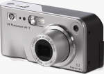 HP's Photosmart M417 digital camera. Courtesy of HP, with modifications by Michael R. Tomkins.