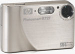 Hewlett Packard's Photosmart R727 digital camera. Courtesy of Panasonic, with modifications by Michael R. Tomkins.