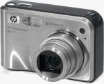 Hewlett Packard's Photosmart R817 digital camera. Courtesy of Hewlett Packard, with modifications by Michael R. Tomkins.