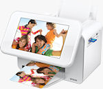 Epson's PictureMate Show two-in-one digital photo frame and 4� x 6� photo printer. Photo provided by Epson America Inc.