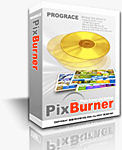 PixBurner box shot. Courtesy of Prograce Systems. Click here to visit the PixBurner website!