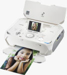Canon's PIXMA mini320 photo printer. Courtesy of Canon, with modifications by Michael R. Tomkins.