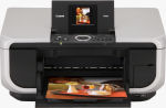 Canon's PIXMA MP600 printer. Courtesy of Canon, with modifications by Michael R. Tomkins.