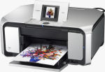Canon's PIXMA MP970 photo printer. Courtesy of Canon, with modifications by Michael R. Tomkins.
