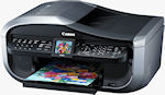 Canon's Pixma MX850 printer. Courtesy of Canon, with modifications by Michael R. Tomkins.