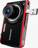 Samsung's PL90 digital camera. Photo provided by Samsung Electronics Co. Ltd.
