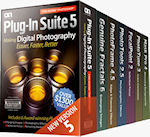 Plug-In Suite 5  product packaging. Photo provided by onOne Software. Inc.