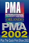 The PMA 2002 Show logo. Click here to visit our PMA coverage!