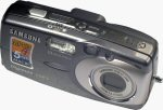 Samsung's Digimax U-CA 3 digital camera. Copyright © 2004, The Imaging Resource. All rights reserved.
