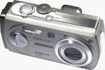 Samsung's Digimax V50 digital camera. Copyright © 2004, The Imaging Resource. All rights reserved.