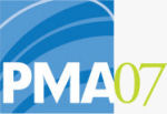 The PMA Spring 2007 show logo. Courtesy of the Photo Marketing Association, with modifications by Michael R. Tomkins. Click to visit our coverage!