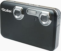 Rollei's Powerflex 3D digital camera. Photo provided by Rollei.
