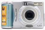 Canon's PowerShot A30 digital camera. Copyright © 2002, The Imaging Resource. All rights reserved.
