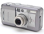 Canon's PowerShot S30 digital camera. Copyright © 2001, The Imaging Resource. All rights reserved.