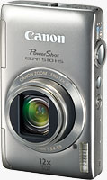 Canon's PowerShot ELPH 510 HS digital camera. Image provided by Canon USA Inc.